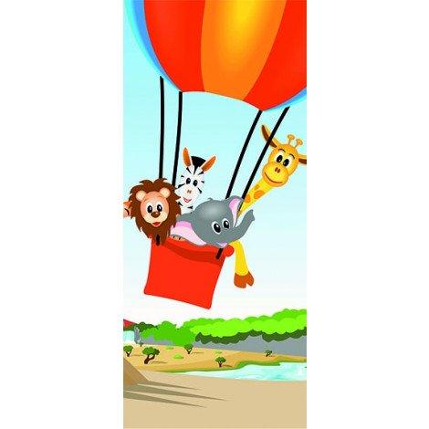 Dieren in luchtballon