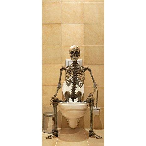 Skelet op Toilet