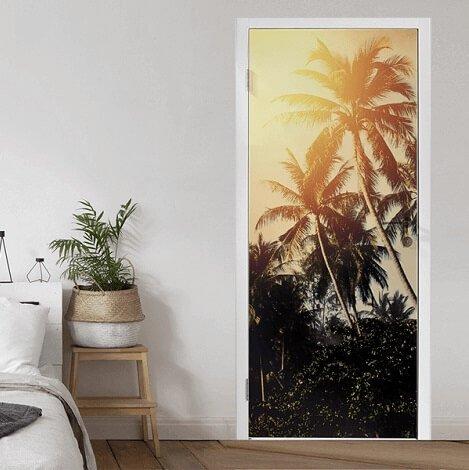Zomerkorting deurposter
